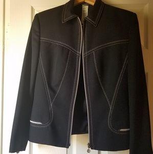 Versace skirt suit size 10